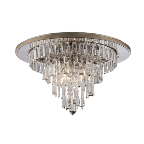 Corbett Lighting Corbett Lighting Illusion Silver Leaf Flushmount Light 170-34