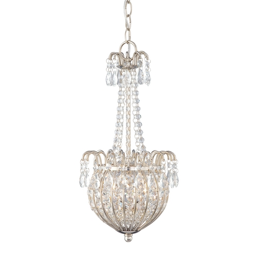 Quoizel Lighting Mini-Pendant Light with Clear Shades JLE2809IS