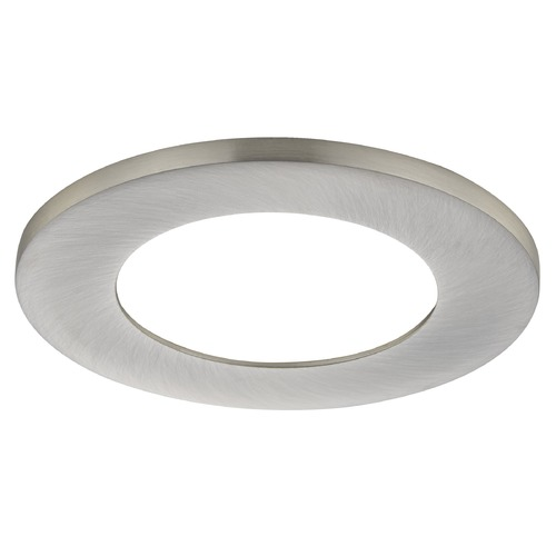 Recesso Lighting by Dolan Designs Recesso Lighting 2 Inch Brushed Nickel Trim Ring For Recessed Lighting RL02-FLTR-BN