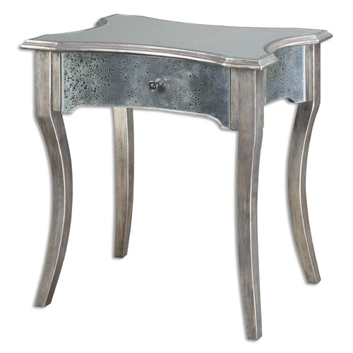 Uttermost Lighting Uttermost Jovannie Mirrored Accent Table 24508