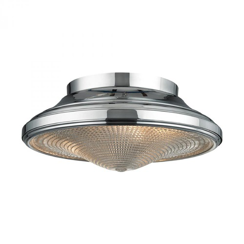 Elk Lighting Elk Lighting Urbano Polished Chrome Flushmount Light 17230/2