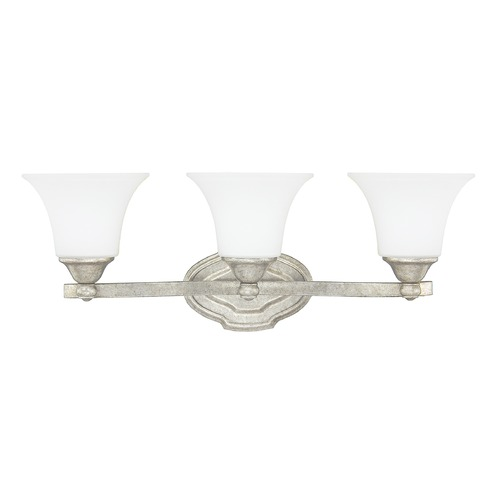 Capital Lighting Capital Lighting Blakely Antique Silver Bathroom Light 8523AS-114