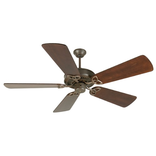 Craftmade Lighting Craftmade Lighting Cxl Aged Bronze Textured Ceiling Fan Without Light K11008