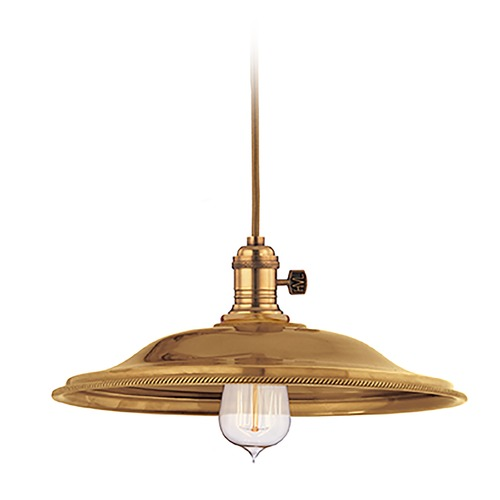 Hudson Valley Lighting Mini-Pendant Light 8001-AGB-MS2