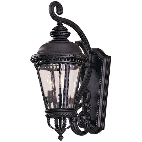 Feiss Lighting 22-1/2-Inch Outdoor Wall Light OL1901BK