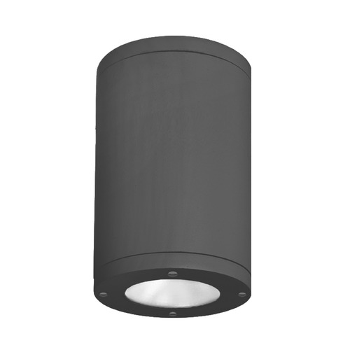 WAC Lighting 5-Inch Black LED Tube Architectural Flush Mount 3500K 2190LM DS-CD05-S35-BK
