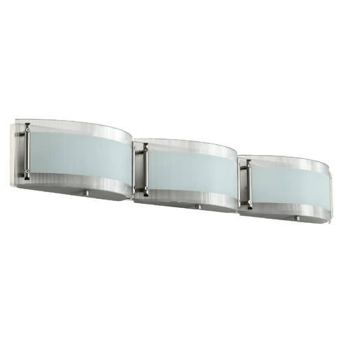 Quorum Lighting Quorum Lighting Satin Nickel Bathroom Light 5085-3-65