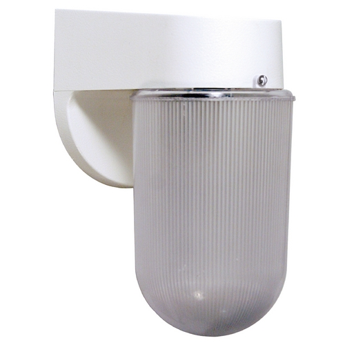 Wave Lighting Wave Lighting Marlex Pocket White Outdoor Wall Light 209-WH