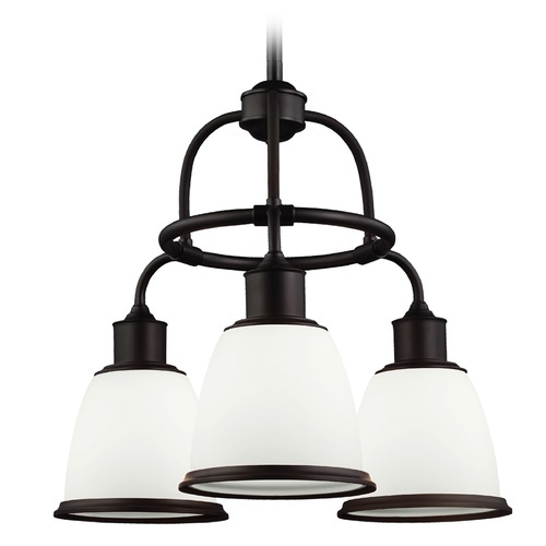 Feiss Lighting Feiss Lighting Hobson Oil Rubbed Bronze Chandelier F3018/3ORB