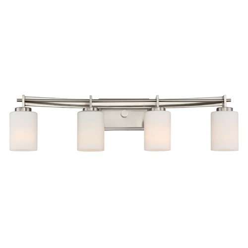 Quoizel Lighting Quoizel Lighting Taylor Brushed Nickel Bathroom Light TY8604BN