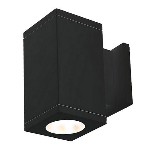 WAC Lighting Wac Lighting Cube Arch Black LED Outdoor Wall Light DC-WS06-S927S-BK