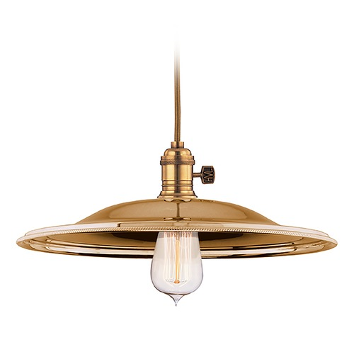 Hudson Valley Lighting Pendant Light in Aged Brass Finish 8001-AGB-MM2