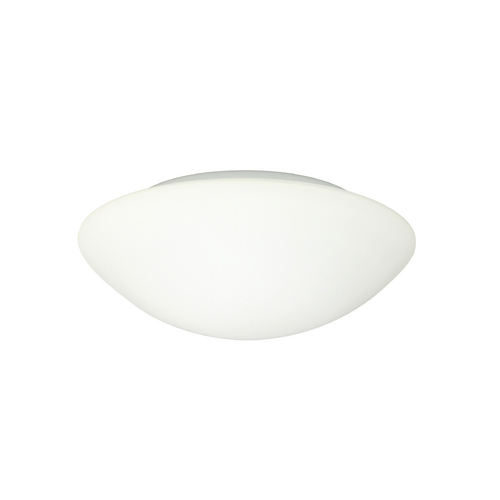 Besa Lighting Flushmount Light with White Glass 977207C