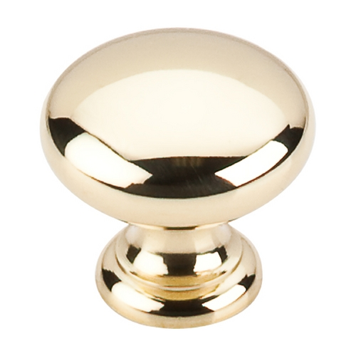 Top Knobs Hardware Cabinet Knob in Polished Brass Finish M279