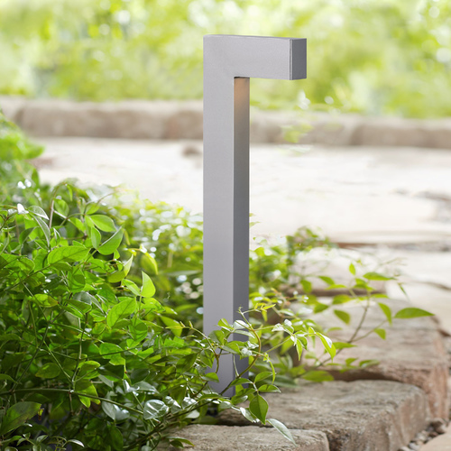 Hinkley Lighting Modern LED Path Light with Etched in Titanium Finish 1518TT-LED