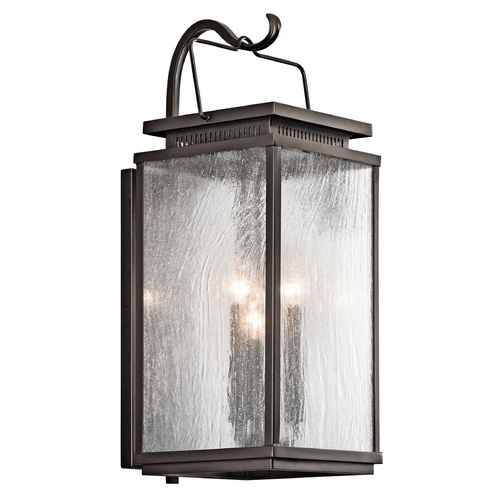 Kichler Lighting Kichler Lighting Manningham Olde Bronze Outdoor Wall Light 49386OZ