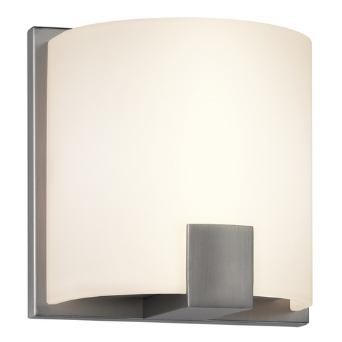Sonneman Lighting Sonneman Lighting C-Shell Satin Nickel LED Sconce 3891.13LED