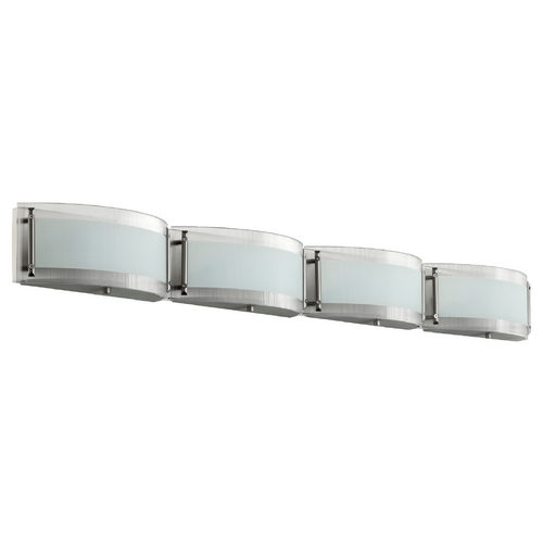 Quorum Lighting Quorum Lighting Satin Nickel Bathroom Light 5085-4-65