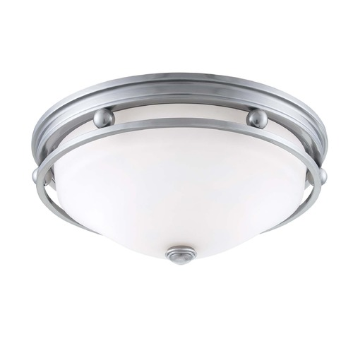 Savoy House Savoy House Brushed Pewter Flushmount Light 6-5450-13-187