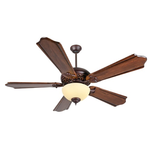 Craftmade Lighting Craftmade Lighting Mia Oiled Bronze Gilded Ceiling Fan with Light K11011