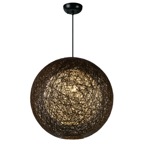 Maxim Lighting Maxim Lighting Bali Pendant Light with Globe Shade 14405CHWT