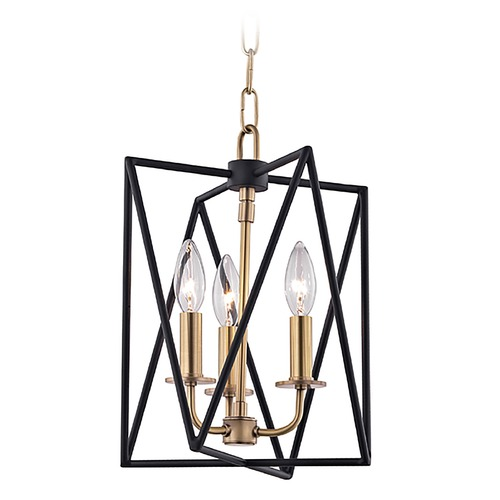 Hudson Valley Lighting Hudson Valley Lighting Laszlo Aged Brass Pendant Light 1110-AGB