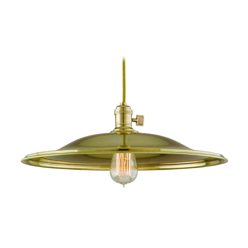 Hudson Valley Lighting Pendant Light in Aged Brass Finish 8001-AGB-ML2