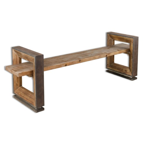 Uttermost Lighting Uttermost Parkyn Modern Bench 24512
