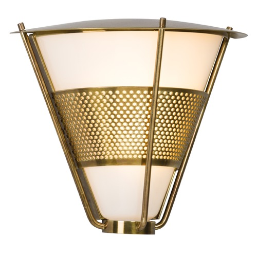Troy Lighting Troy Lighting Rexford Historic Brass LED Outdoor Wall Light BL4911
