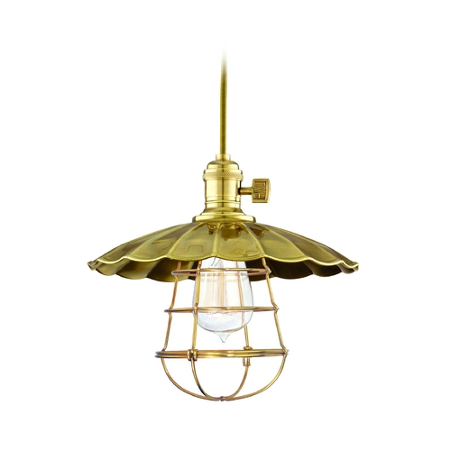 Hudson Valley Lighting Mini-Pendant Light 8001-AGB-MS3