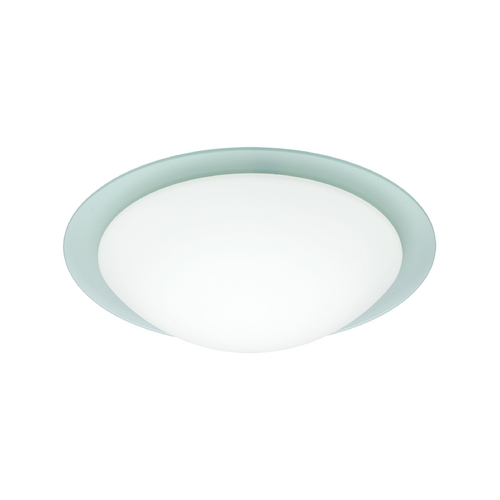 Besa Lighting Flushmount Light with White Glass 977225C