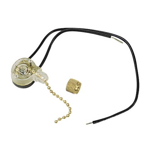 Craftmade Lighting Switch in Bright Brass Finish OFS-100