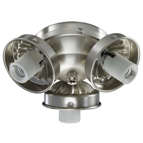 Quorum Lighting Quorum Lighting Satin Nickel Fan Light Kit 2303-9065