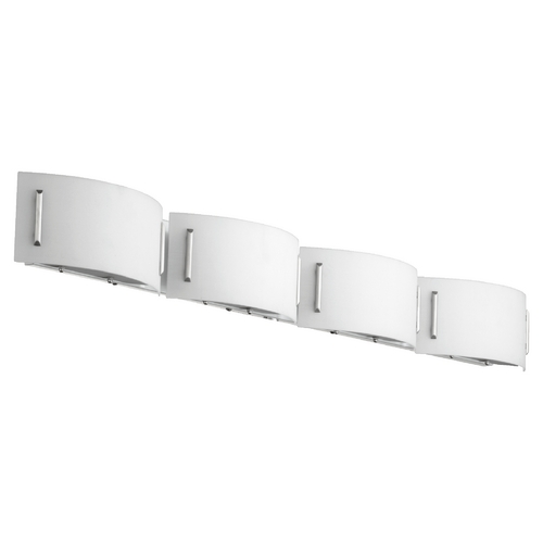 Quorum Lighting Quorum Lighting Satin Nickel Bathroom Light 5086-4-65