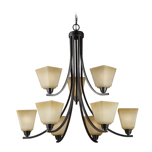 Sea Gull Lighting Sea Gull Lighting Parkfield Flemish Bronze Chandelier 3113009-845
