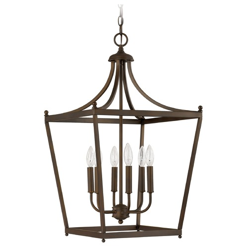 Capital Lighting Capital Lighting Stanton Burnished Bronze Pendant Light 9552BB