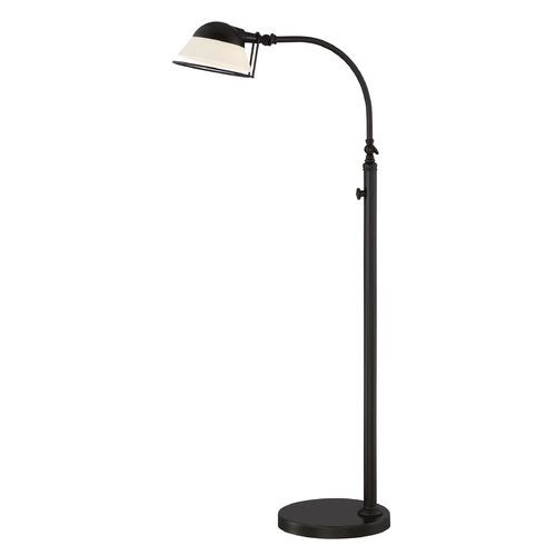 Quoizel Lighting Quoizel Lighting Vivid Collection Benedict Western Bronze Floor Lamp with Empire Shade VVBT9348WT