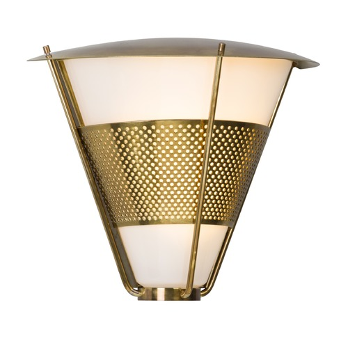 Troy Lighting Troy Lighting Rexford Historic Brass LED Outdoor Wall Light BL4912