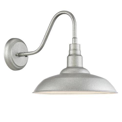 LED Barn Light Galvanized By Quoizel Lighting