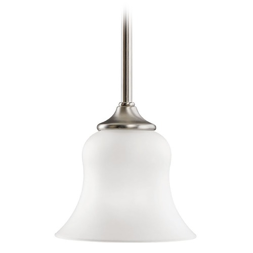 Kichler Lighting Kichler Mini-Pendant Light with White Glass 10743NI