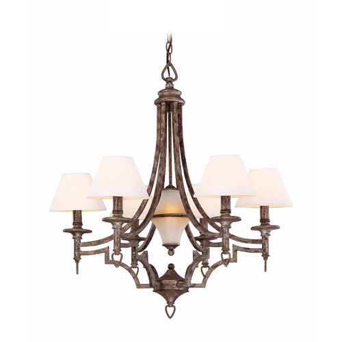 Lite Source Lighting Lite Source Lighting Damaris Pewter Chandelier LS-19137