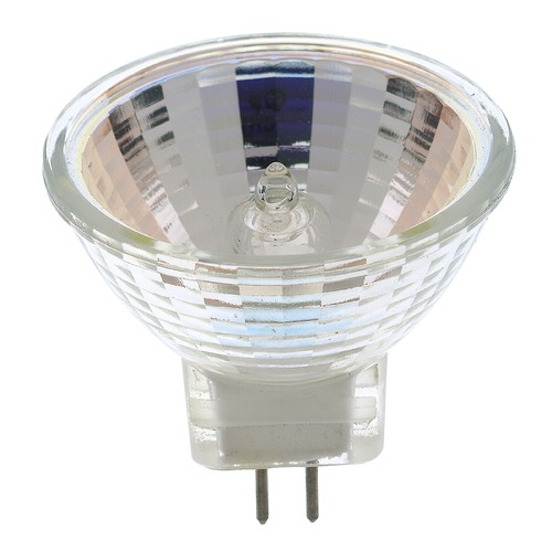 Satco Lighting MR-11 Halogen Light Bulb 2 Pin Narrow Flood 24 Degree Beam Spread 2900K 12V Dimmable S3425