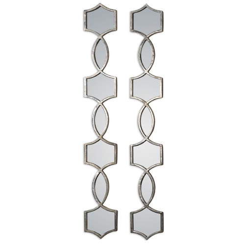 Uttermost Lighting Uttermost Vizela Metal Mirrors Set of 2 12856