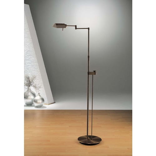 Holtkoetter Lighting Holtkoetter Modern Floor Lamp in Hand-Brushed Old Bronze Finish 6317SLD HBOB