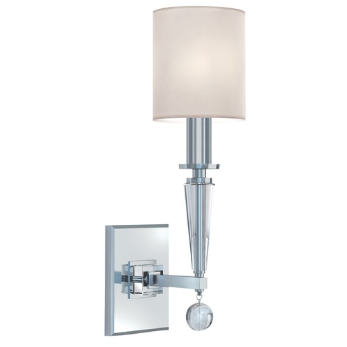 Crystorama Lighting Crystorama Lighting Paxton Polished Nickel Sconce 8101-PN