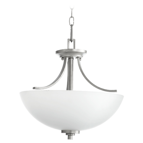 Quorum Lighting Reyes Classic Nickel Pendant Light