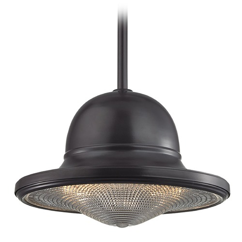 Elk Lighting Elk Lighting Urbano Oil Rubbed Bronze Pendant Light with Bowl / Dome Shade 17252/1