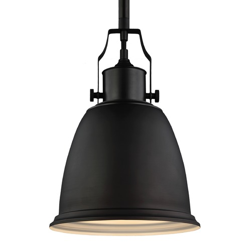 Feiss Lighting Feiss Hobson Oil Rubbed Bronze Mini-Pendant Light P1358ORB