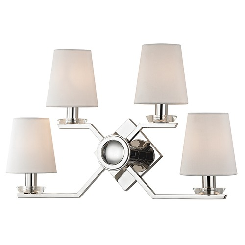 Hudson Valley Lighting Baker 4 Light Sconce - Polished Nickel 5940-PN