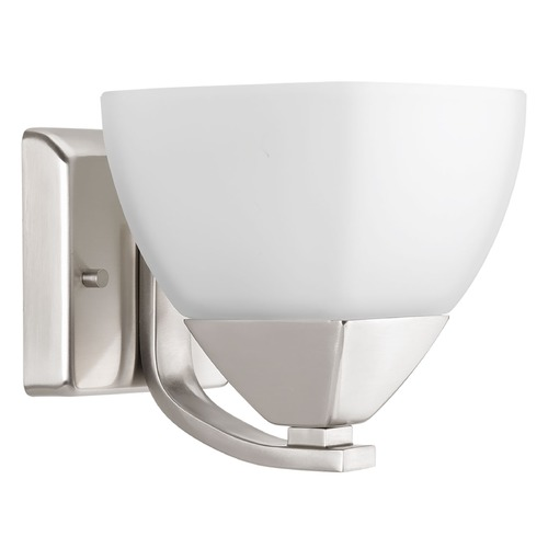 Progress Lighting Progress Lighting Appeal Brushed Nickel Sconce P2700-09